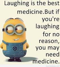 funny minion laughing quote with a funny picture
