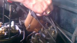 All Chevy 95 chevy 1500 ignition switch : 1995 Chevy 5.7L V8 Distributor Cap and Rotor Button How to Part 1 ...