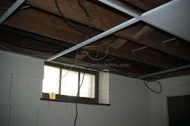 how to install a drop ceiling around ductwork how to install a drop ceiling around grid