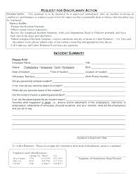 Employee Injury Report Form Write Up Template Example