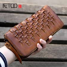 Detail Feedback Questions about <b>AETOO</b> Retro old wallet hand ...