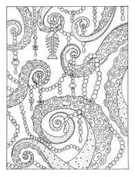 octopus garden coloring page instant be by chubbymermaid