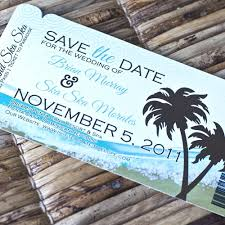 deposit boarding pass invitation or save the date (abstract Wedding Invitations Or Save The Dates deposit boarding pass invitation or save the date (abstract beach design) $20 00 wedding invitations and save the date sets