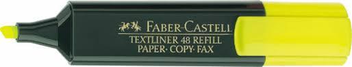 <b>Faber</b>-<b>Castell Текстовыделитель</b> 1548 цвет <b>желтый</b>. Купить ...