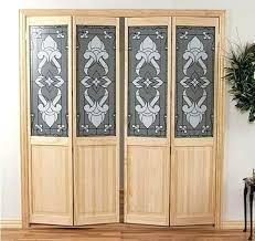 frosted glass bifold closet doors interior door