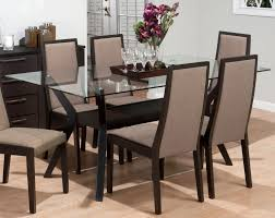 Glass Kitchen Table Sets Glass Dining Room Table Round Pedestal Glass Top Dining Table