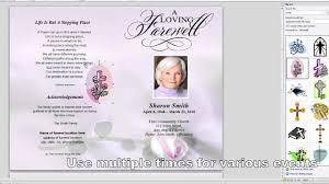 001 Template Ideas Free Funeral Program Microsoft Publisher