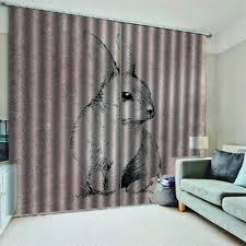 Dk Soap And Design Studio Amazon Com Krwhts Curtain White Rabbits Waterproof Soap