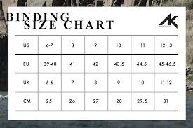 4 Collective Size Chart Size Charts Ak
