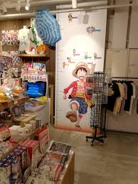 One Piece Height Chart A Height Chart At Japans Jump Shop That Allows You To