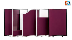 office screens dividers. acoustic screens from go displays office dividers s
