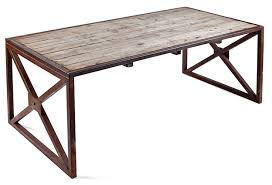 industrial reclaimed wood furniture. Industrial Reclaimed Wood Table Or Desk Italy Furniture D