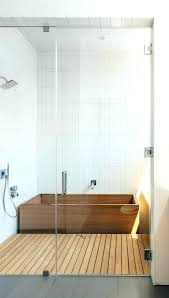Deep bathtub shower combo Small Space Soaking Tub Shower Combo Bathtubs Idea Astonishing Deep Bathtub With Extra Zoomalsco Soaking Tub And Shower Combo With Bathtub Image By New Style