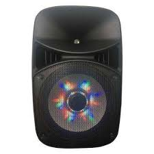 pa speaker with led party lighting