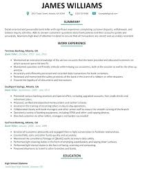 Sample Resume For A Bank Teller Sample Resume For Bank Bank Teller Responsibilities Resume Com