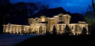 home lighting effects. Lighting Effects Outside Your Simple Home Exterior