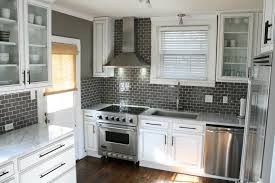 charcoal gray subway tile