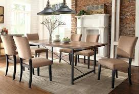 rustic industrial dining chairs industrial style dining room tables awesome with image of pertaining to table