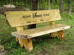 image of rustic garden furniture