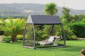 Balancelle De Jardin Fauteuils Balancelles De Jardin Hesp Ride Balancelle Hamac Trinidad Taupe Avec Moustiquaire