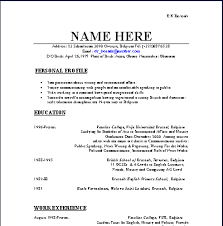 how-to-layout-a-resume-cv how to layout a resume
