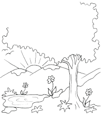 7 Days Of Creation Coloring Pages Days Of Creation Days Creation