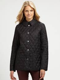 Lyst - Burberry brit Pirmont Quilted Jacket in Black & Gallery Adamdwight.com