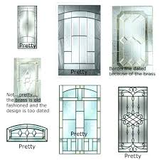 entry doors glass inserts exterior door glass inserts home depot canada