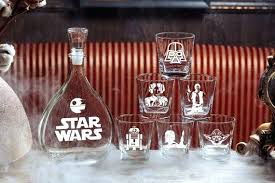 image 0 personalized whiskey decanter set canada star wars gift glass