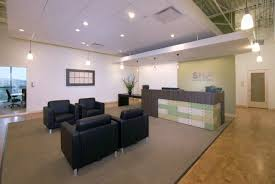 beautiful unique office desks. White Themed Cool Home Office Design With Elegant Black Leather Sofa On The Large Brown Carpet Beautiful Unique Desks
