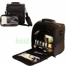 professional makeup bag cosmetic case storage handle organizer artist travel kit