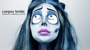 corpse bride makeup tutorial