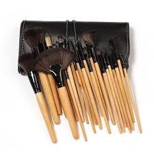 get ations 24pcs professional makeup brush cosmetic tool kit natural mood eyeshadow brushes for make up set high