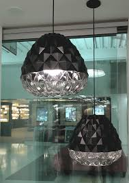 glam lighting. A Pendant With Glam: LBL Facette Grande Glam Lighting