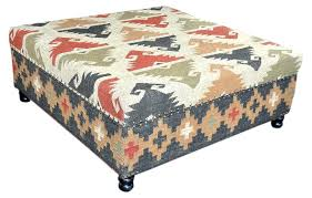 Kilim Ottoman Square Pouf Round. Kilim Ottoman Coffee Table Anthropologie  Pottery Barn.