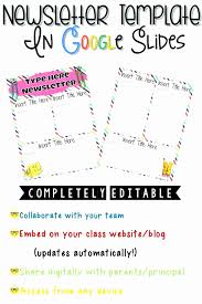 Monthly Newsletter Template For Teachers Newsletter Template For Teachers Monthly Newsletter Template For