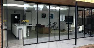 bi fold glass doors creative of glass doors with bi fold glass patio doors frameless glass