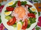 amazing shrimp louie salad