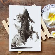 водонепроницаемый временные татуировки стикеры Grim Reaper татуировки воды