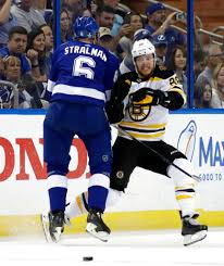 each time boston s top line jumps over the boards the tampa bay lightning are on red alert