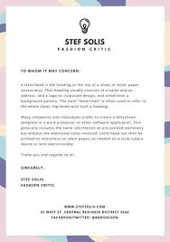 Free Personal Letterhead Templates Word Fascinating Pastel Abstract Shapes Personal Letterhead Templates By Canva