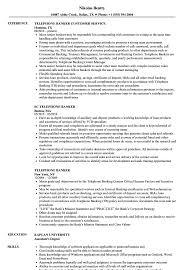 Resume Additional Skills Examples Telephone Banker Resume Samples Velvet Jobs 83