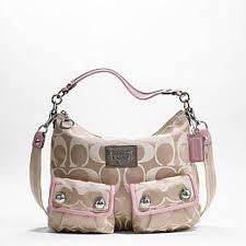 Coach Poppy Op Art Pocket Hobo Swing Bag 14570