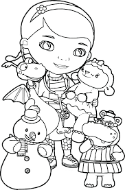 Disney Junior Doc Mcstuffins Coloring Pages Play N Learn Cards Jr