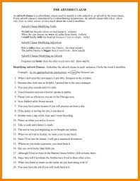 5+ adverbial phrases worksheet | liquor samples
