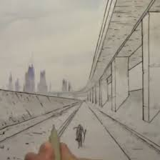 305x305 ic book video tutorials â draw backgrounds in 1 point perspective