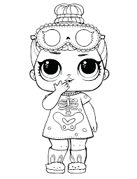 Doll Coloring Pages Coloring For Babies Amvame
