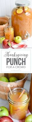 Best 25 Thanksgiving Punch Ideas On Pinterest  Thanksgiving Party Cocktails For A Crowd