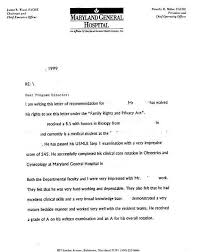 Bunch Ideas Of Letter Of Recommendation Medicine Residency For Your