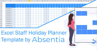 Annual Leave Chart 2018 Excel Staff Holiday Planner The Ultimate Template